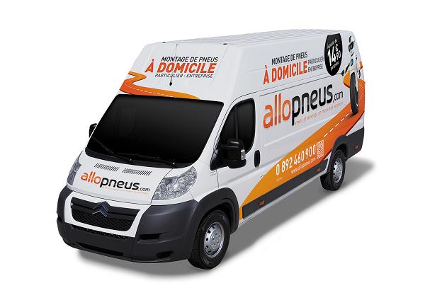 Camion allopneus.com le datacenter sécurisé