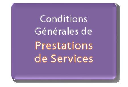 conditions générales prestations de services