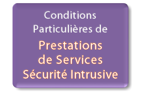 conditions particulières prestations de services