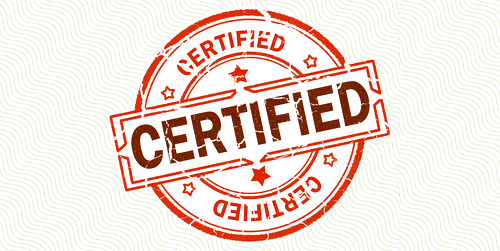 certifications cachet Certified CCSE CEH