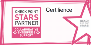 Certilience partenaire CCSP Check Point Stars