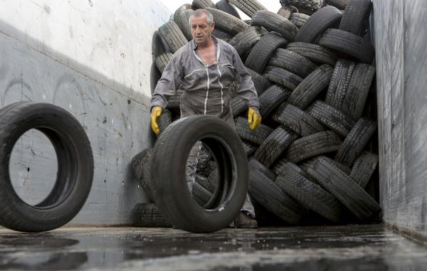 Témoignage Aliapur recyclage pneus usagés