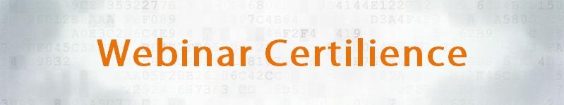 webinar Certilience - expert en Sécurité Informatique