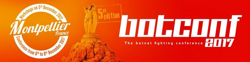 botconf 2017 - conference de lutte contre les botnets