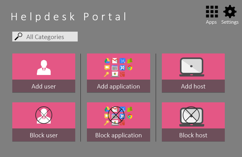 helpdesk portal - Check Point