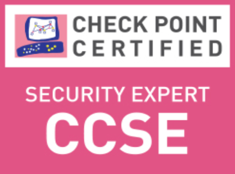 logo Check Point CCSE - security Expert