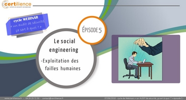 webinar vidéo audit social engineering
