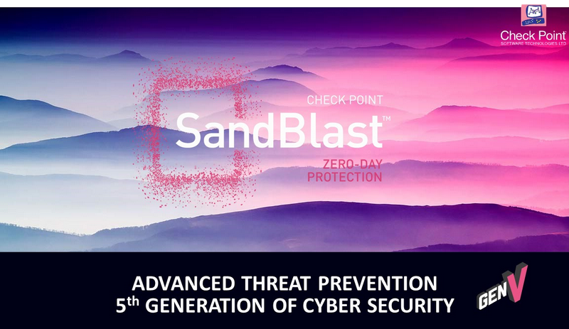 SandBlast Agent for Browsers protection attaques internet, check point