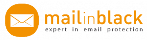 mail in black, expert in mail protection