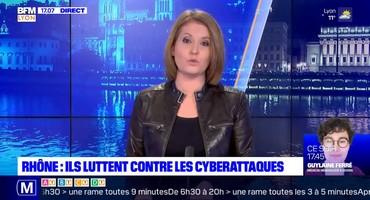 interview par BFM Lyon sur les cyberattaques et témoignage Certilience