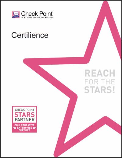 partenaire certifié Check Point Stars