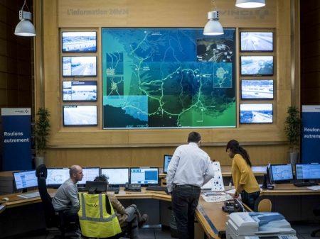 vinci autoroutes centre controle - protection des données sensibles