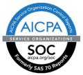 Certification AICPA Service Organization Control Reports - SOC