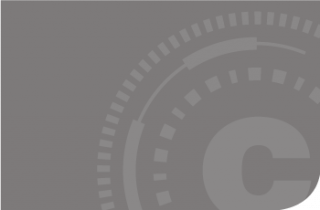 cadre gris Certilience monogramme