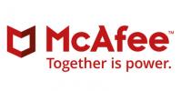 logo McAfee - antivirus avancé pare-feux sécurité