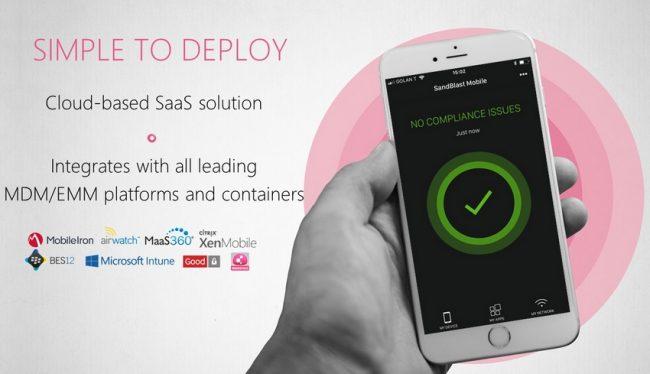 SandBlast Agent for Browsers protection des mobiles et des postes utilisateurs contre les attaques internet