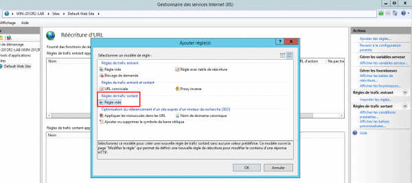 step 3 : install Rewrite - add rule server outbound