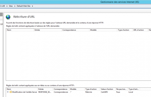 step 3 : installation Rewrite - résultats