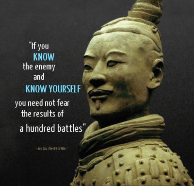Sun Tzu l'art de la guerre - audit de sécurité